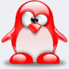 red penguin