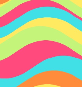 Wavy Colors Background