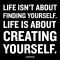 creatin yourself