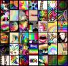 Rainbow Icon Quilt