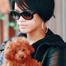 Rihanna & her puppy