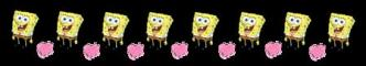 Spongebob divider