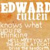 Edward Knows...