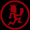 dark red hatchetman