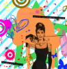 audrey/ breakfast at tiffany's /artwork