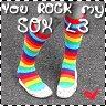 U rock my sockkss